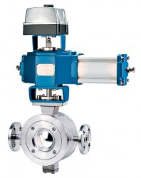 Steam-jacket-segment-ball-valve